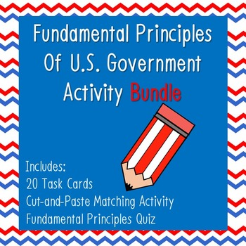Principles of U.S. Government Activity Bundle!