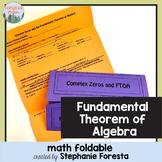 Fundamental Theorem of Algebra Foldable