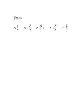 Fundamental Theorem of Calculus SENTEO set