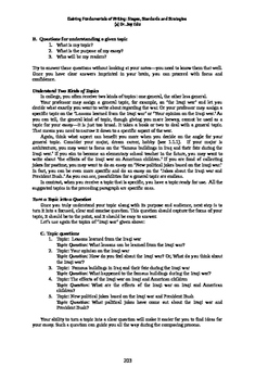 Ace Critical Thinking 10: Gaining Fundamentals of Writing