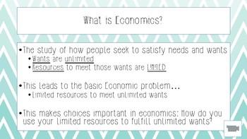 Fundamentals of Economics, Part 1