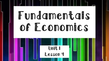 Fundamentals of Economics, Part 4
