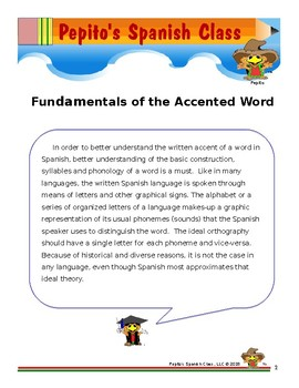 Fundamentals of the Accented Word