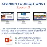 Fundamentos de Español Lección 3