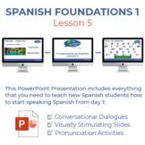 Fundamentos de Español Lección 5