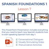 Fundamentos de Español Lección 7