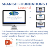 Fundamentos de Español Lección 8
