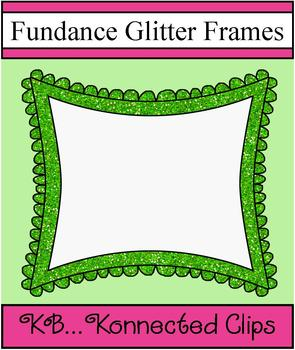 Fundance Glitter Frames - Commercial use welcome!