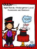 Sight Words--Kindergarten