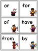 Sight Words--Kindergarten Level