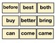 Fundation aligned sight words dolch words for pre-k, 1st, 2nd, 3rd grades