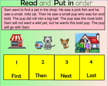 Closed Syllable Exceptions -old -ost -ind -ild  Level 2 Unit 3 (Dyslexia RTI)