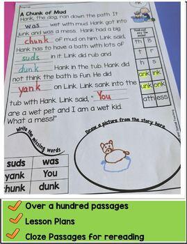 First Grade Decodable Stories Bundle Units 3-14