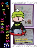 Orton Gillingham Decodable Stories Initial & Final Blends & suffixes-ing -ed -s