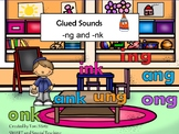 -nk and -ng for Smart Board (Dyslexia/ RTl) ang, ing, ong, ung, ank, ink, onk