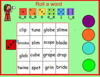 Orton Gillingham Magic E Silent E Activities SMART Board RTI Dyslexia