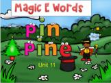 Orton Gillingham Magic E Silent E Activities SMART Board R