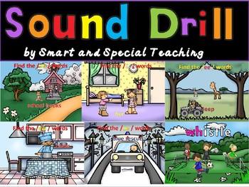 Orton-Gillingham Sound Drill Powerpoint (Phonograms) Dyslexia