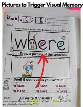 Orton-Gilllingham Visual Journal Level 1 Sight Word Fluency ( RTI/Dyslexia)