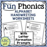 FUN PHONICS Alphabet Handwriting Worksheets