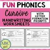 FUN PHONICS Cursive Handwriting Worksheets