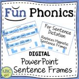Fundationally FUN PHONICS PowerPoint Sentence Frames
