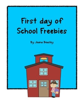 First Day of School Freebie!