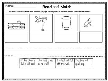 "Wilson Fundations ""Bonus Letter"" Spelling Rule Unit 4"