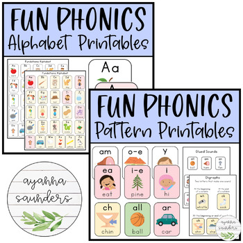 Fun Phonics Bundle (Alphabet & Patterns)