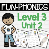 FUN-Phonics Level 3 Unit 2