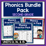 Phonics Printable Bundle Pack (Second Grade) Units 13, 14, & 15