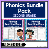 Phonics Printable Bundle Pack - Second Grade Units 16 & 17