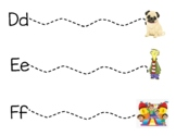 Fundations Extended Letter Sound Cards