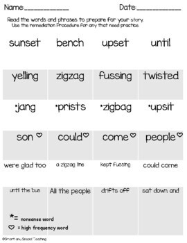 First Grade Decodable Stories Level 1 Unit 12 Two Syllables & Suffixes -ing -ed