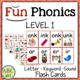 1st Grade Fundationally FUN PHONICS Level 1 Letter-Keyword