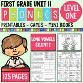 Level 1 Unit 11 Silent E - Long Vowels