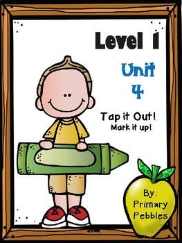 Fundations Level 1 Unit 4 Mark it Up!