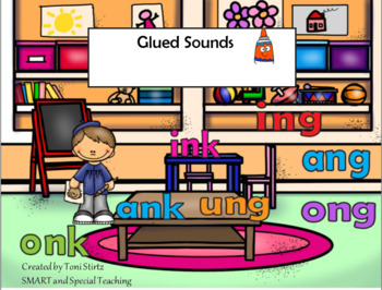 Glued sounds -nk and -ng  Level 1 Unit 7(RTI /Dyslexia)