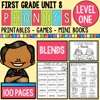 Unit 8 Blends - Printables and Games