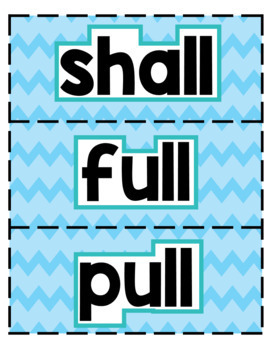 Fun Phonics Level 2 Trick Word Cards