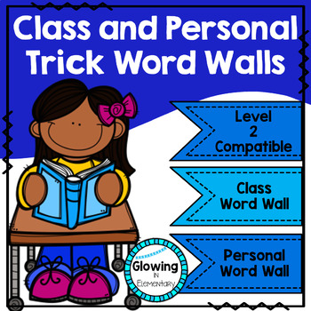 Fundations Level 2 Trick Word Wall
