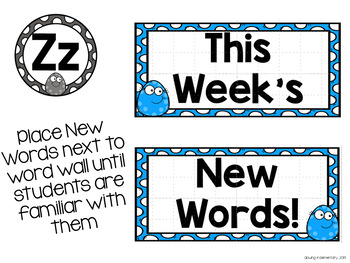 Fundations Compatible Level 2 Trick Word Wall