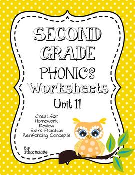 Second Grade Phonics Unit 11 Worksheets