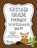 Second Grade Phonics Unit 14 Worksheets