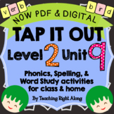 Tap It Out Level 2 Unit 9 (R-Controlled Vowels er, ir, ur)