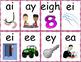 3rd Grade Fundationally FUN PHONICS Level 3 Letter-Keyword-Sound Flash Cards