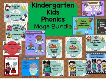 Phonics MEGA Bundle (Kindergarten)