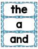 Kindergarten Fundationally FUN PHONICS Level K Trick Word Cards