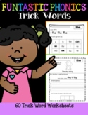 FUNtastic FUNdational Trick Words