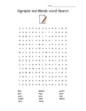 Digraphs and Blends Word Search